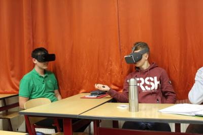 Fotoalbum Virtual Reality in der Schule
