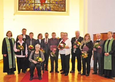 Fotoalbum Verleihung des Anhalter Kreuzes
