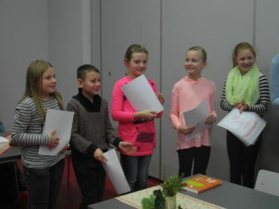 Fotoalbum Vorlesewettbewerb in der Grundschule
