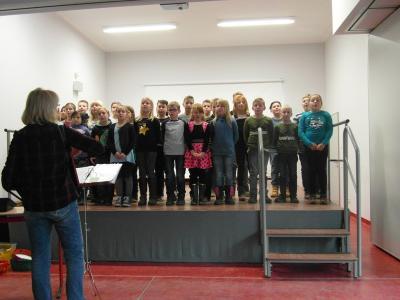 Fotoalbum Klingende Weihnacht in der Grundschule