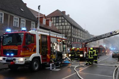 Fotoalbum Wohnungsbrand am 21.12.2017 in Friesack
