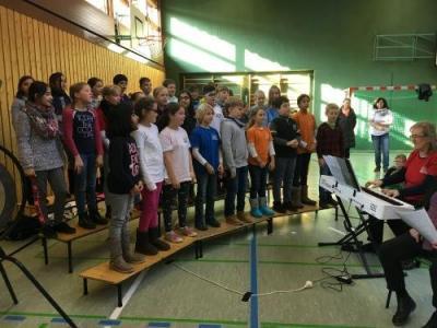 Fotoalbum Verleihung Fairtrade School Zertifikat an Schillerschule Bissingen