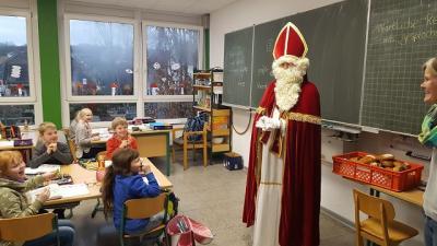Fotoalbum Besuch vom Nikolaus (Ho)