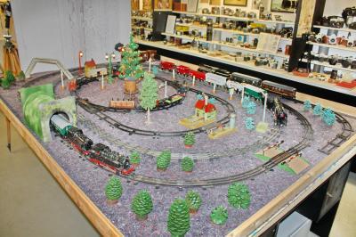 """Fotoalbum Sonderschau """"Historische Spielzeug-Eisenbahn in Spur Null"""""""