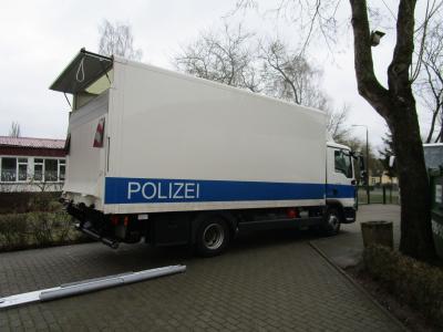 Fotoalbum Präventionsveranstaltung mit dem Landespolizeiorchester Brandenburg