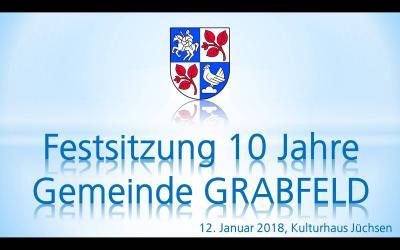 Fotoalbum Festveranstaltung 10 Jahre Gemeinde Grabfeld