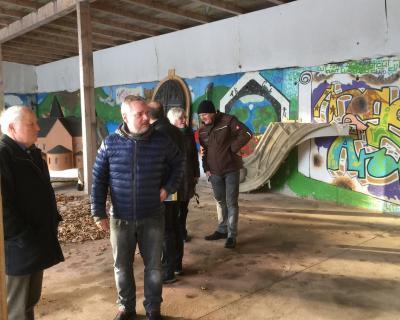 Fotoalbum Bau und Einweihung des Lutherweginformationszentrums am 18.1.18