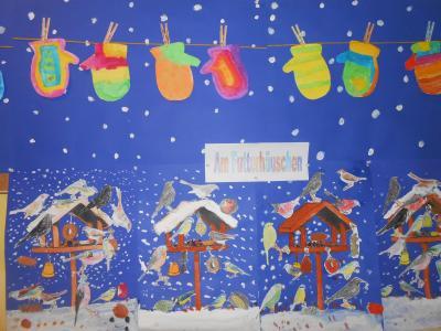 Fotoalbum Winterimpressionen in der Schule