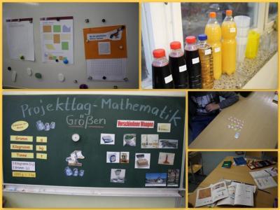 Fotoalbum Projekttag Mathematik: Größen und Messen