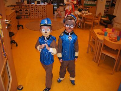 Fotoalbum Rosenmontag - Karneval im Kindergarten