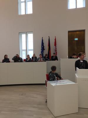 Fotoalbum Landtagsbesuch Klasse 9