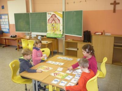 Fotoalbum Gemeinsamer Unterricht mit dem Kindergarten Krähennest