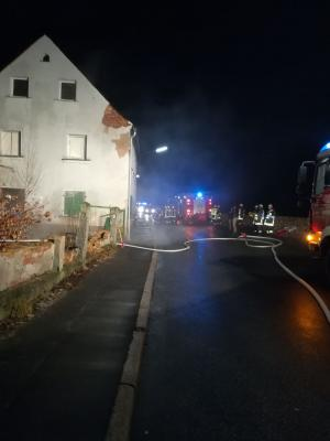 Fotoalbum Brand eines Gebäudes in Arzberg