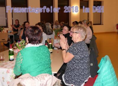 Fotoalbum Frauentagsfeier 2018 im Dorfgemeinschaftshaus
