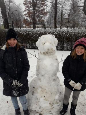 Fotoalbum Unsere Schneemänner