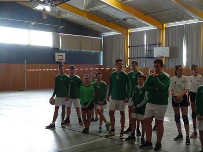 Fotoalbum Sächsischer Schulcup Faustball 2018