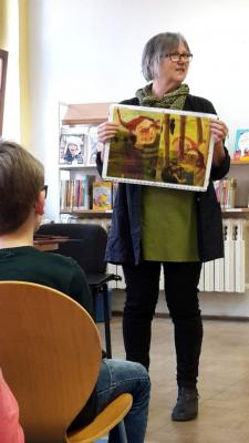 Fotoalbum Autorenlesung mit Irene Leps