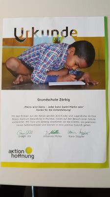 Fotoalbum Aktion Hoffnung - Die Sternensinger (Kindermissionswerk)