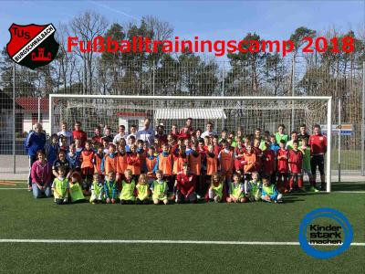 Fotoalbum 7. Fußballtrainingscamp 2018