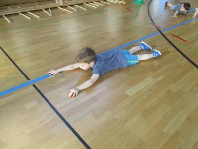 Fotoalbum Sportunterricht der Grundschule