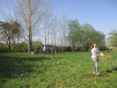 Fotoalbum Frühjahrsputz im Naturgarten am 21.04.2018