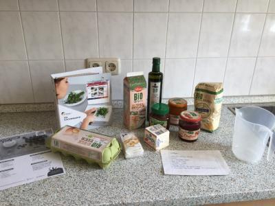Fotoalbum Projekt Ich kann kochen