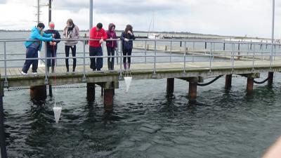"""Fotoalbum Wassercamp Schlei: Die Arbeitsgruppe """"Plankton"""""""