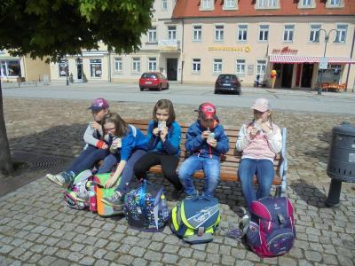 Fotoalbum Geburtstagsfeier des Monats April - In der Bäckerei Gierig