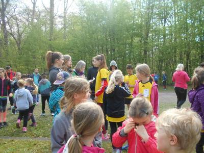 "Fotoalbum ""Jugend trainiert für Olympia"" -Frühjahrscross am 25.04.18"