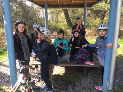 Fotoalbum Fahrradtour Klasse 5