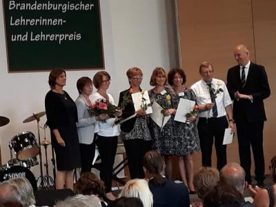 Fotoalbum Brandenburgischer Lehrerinnen- und Lehrerpreis 2018