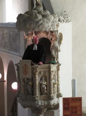 Fotoalbum Vorstellungsgottesdienst von Pfarrer Dr. Christoph Gramzow in der Pretzscher Kirche