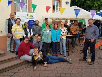 Fotoalbum Sommerfest Leben und Arbeiten
