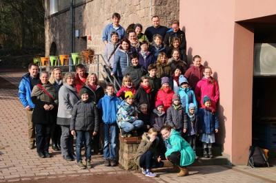 Fotoalbum Familienfreizeit 2018 der Region an der Elbe in der Villa Jühling/Halle