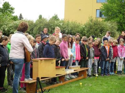 Fotoalbum Schulgarteneinweihung