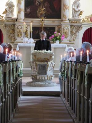 Fotoalbum Diamantene, Eiserne und Gnadenkonfirmation in der Stadtkirche