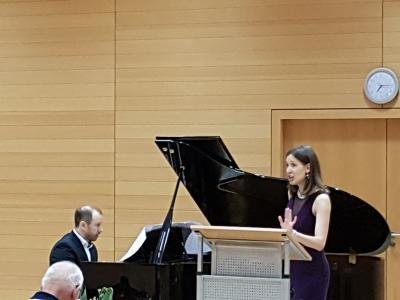 Fotoalbum Liederabend mit Milica Lazovic und Pietro Massa