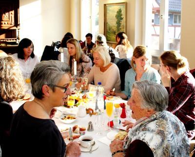 Fotoalbum Frauenfrühstück in der Fabrikantenvilla