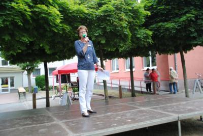 Fotoalbum Straßenfest der Regionalen Kontakt- und Informationsstelle für Selbsthilfegruppen in Perleberg