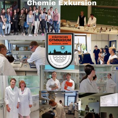 Fotoalbum Wissenschaftsexkursion Chemie - Uni Potsdam