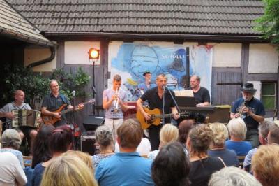 Fotoalbum STERNE HOCH im Parrhof - Ralph Schüller & Band
