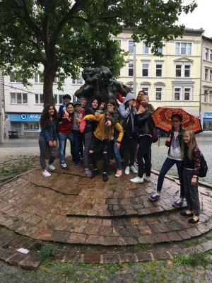 Fotoalbum Floßfahrt - 1. Preis beim Schulfest