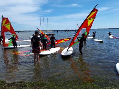 Fotoalbum Sportwoche Klasse 7 an der Ostsee