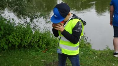 Fotoalbum Aqua Agenten: Keschern in den Steindammwiesen