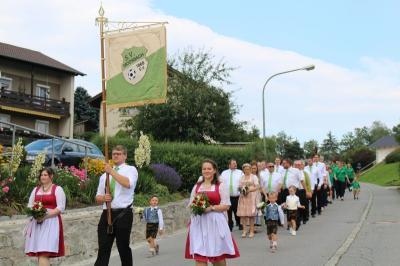Fotoalbum 50-jähriges Gründungsfest SV Moosbach Festauftakt