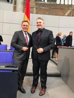 Fotoalbum Jugend und Parlament 2018