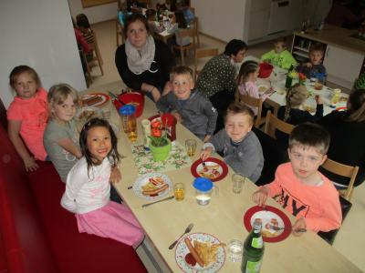 Fotoalbum Schlaffest der Maxi-Kinder