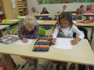 Fotoalbum Erkundung der Grundschule