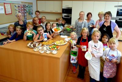 Fotoalbum Kochen mit Kindern
