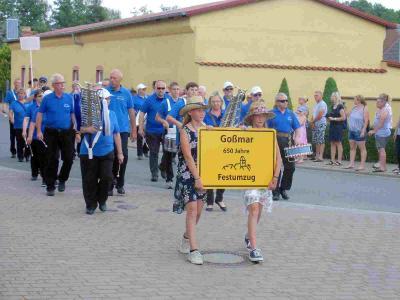 Fotoalbum 650 Jahre Goßmar - Großer Festumzug